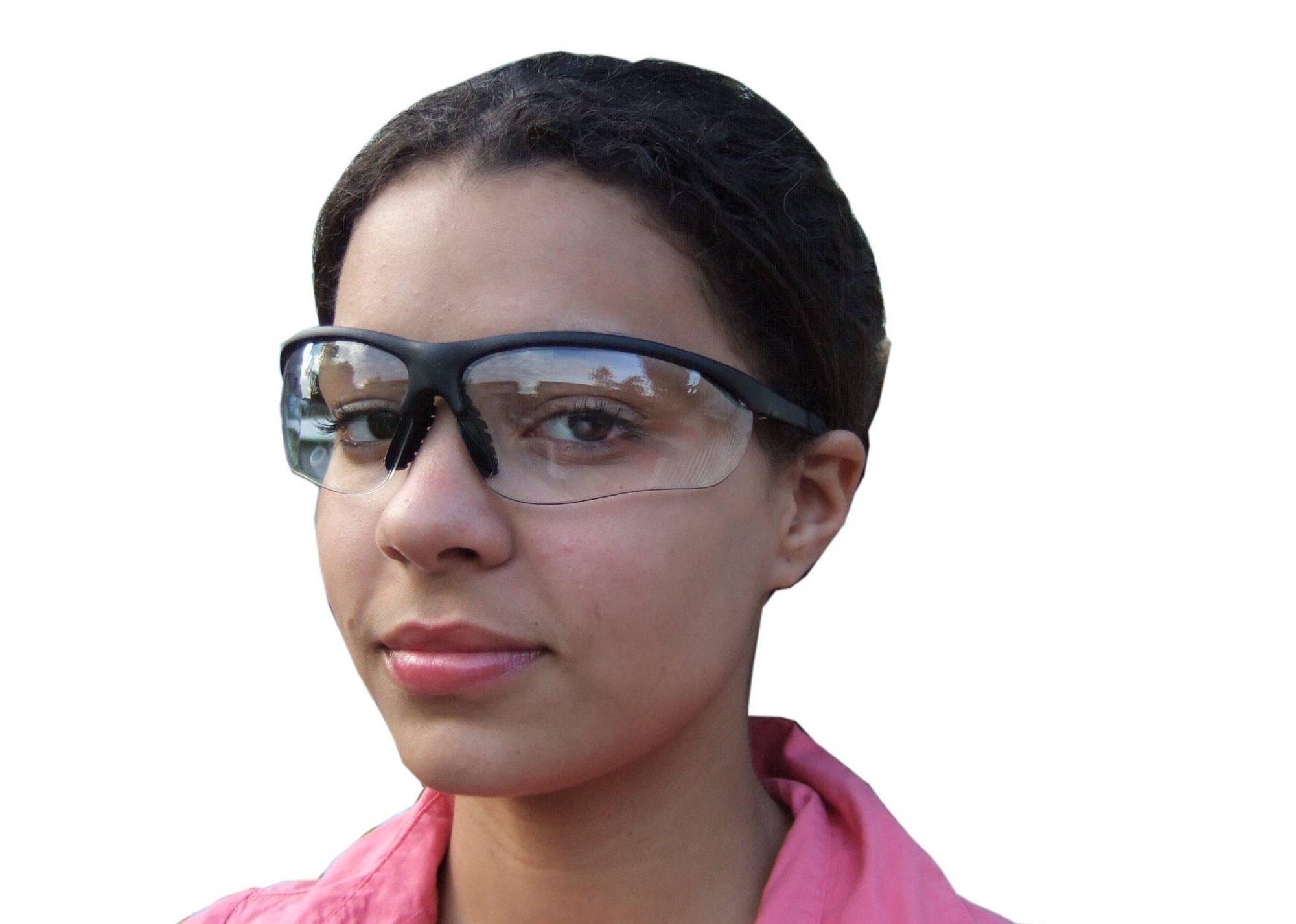 Les lunettes de sécurités pour les travailleurs.